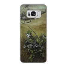 Чехол для Samsung Galaxy S8, объёмная печать Война #2270527