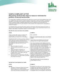 Complaint Letter To Landlord Template Noisy Neighbor Complaint Letter Sample Inspirationa Noise Plaint