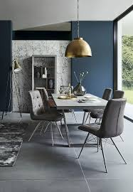 simplistic in style and practical in design the halmstad dining table can give your dining room a stunning industrial look