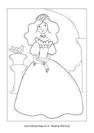 Small Picture Princess Colouring Pages