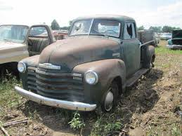 Truck chevy c10 project trucks : 1953 Chevrolet 1300 2wd half ton truck, 235 ci 6 cyl, 3 speed on ...