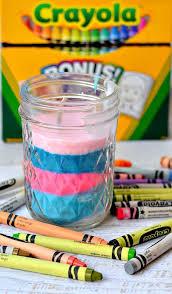 diy crayon candles