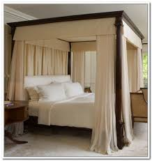 Best of Canopy Curtains For Four Poster Bed Designs with Fresh Canopy Bed  Drapes Ceiling 5478
