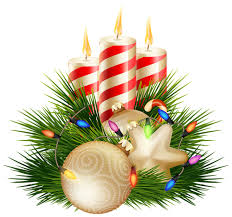 Christmas Candle Decorative PNG Clipart Image   Christmas Clip Art ...