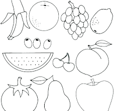 Coloring Page Fruit Marvelous Fruit Of The Spirit Coloring Pages