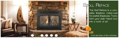 fireplace glass doors with blower unbelievable stoll inc custom heating decorating ideas 27