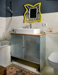 Amazing Ideas Unique Bathroom Vanities Brilliant Vanity 20 Upcycled And One  Of A Photos