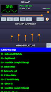 Android için Winamp Music Player Audio Player mp3 Player APK - İndir