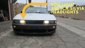 240sx Fog Light Switch S13 Silvia Headlight Mod