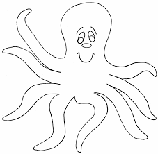 Small Picture Octopus coloring page Animals Town animals color sheet