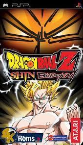 dragon ball z shin budokai usa psp