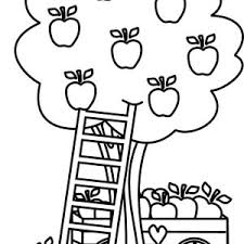 Small Picture tree coloring page