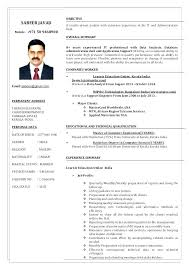 Sample Resume For Technical Support Technical Support Resume