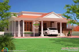 Small Picture 3 bed room home Kerala Traditional Design Kerala home design