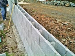 Small Picture Concrete Block Retaining Wall Design Home Design Ideas Inexpensive