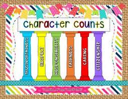 melhores ideias de pillars of character no character counts
