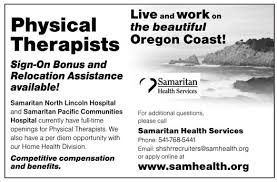 Job With Relocation Assistance Physical Therapists Job In Oregon Healthcare Jobs