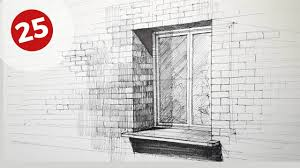 window drawing. Exellent Window How To Draw A Window  Daily Architecture Sketches 25 Throughout Drawing I