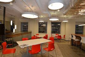 chicago office interior design before photo of a software pany cafeteria before