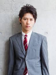 アップバング大人ショートメンズ髪型 Lipps 原宿mens Hairstyle
