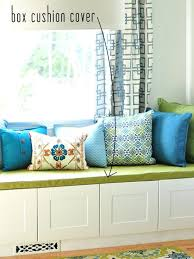 window seat box cushion cover frame simple sew