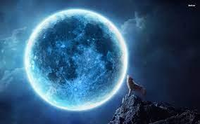 Blue Moon Desktop Wallpapers - Top Free ...