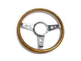 classic austin mini motolita 13 dished wood steering wheel