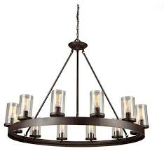 artcraft lighting ac10002 melno park chandelier dark chocolate