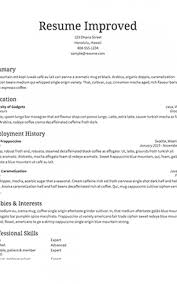 Resume Template Maker Interesting Resume Template Builder Formatted Templates Example