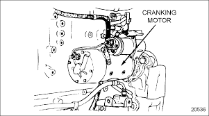 electrical detroit diesel troubleshooting diagrams series 60 cranking motor mounting