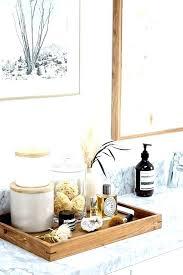 bathroom vanity tray. Inspiring Small Bathroom Vanity Tray Ideas Decor