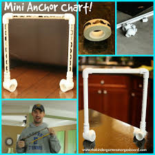 Mini Anchor Chart Stand Mini Diy Anchor Chart Stand The Kindergarten Smorgasboard