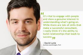 career profile david lurie business psychologist pwc david lurie