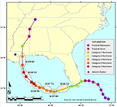 Hurricane Andrew Tracking Chart Hurricane Katrina