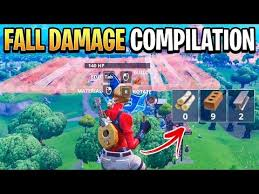 Fortnite Fall Damage Explained How High Till You Die