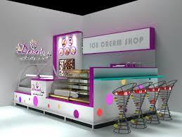 Small Ice Cream Shop Interior Design Colorful Ice Cream Shop Small Dessert Kiosk For Sale