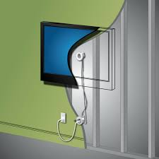 diy to hide tv cables creating a cord free wall diy how to