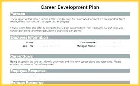sample career plan 5 year career plan example 3 business template pdf for students