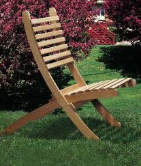 portable outdoor chairs plan