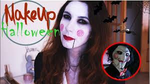 makeup o boneco billy do filme saw