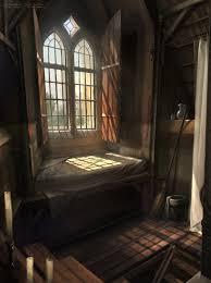 Medieval Bedroom Ellas Room Picture 2d Fantasy Medieval Room Interior