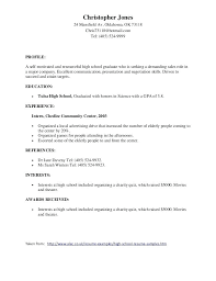 Professional Accomplishments Resume Examples Samples Of Good Resumes