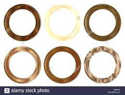 wood curtain rings curtains ideas wooden decorating six stock vector art ilration bunnings