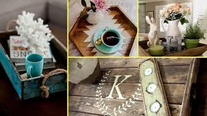 Small Picture DIY Farmhouse style wooden rustic tray decor ideas home decor