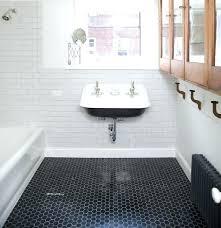 adorable hex tile bathroom at marvelous black hexagon tiles com and white floor alternatives to bathrooms hexagon mosaic
