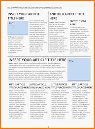 Newspaper Column Template Word 6 Editorial Template For Microsoft Word Dragon Fire Defense