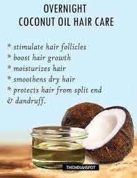 diy hair mask to repair damaged hair overnight hot coconut oil hair mask hair
