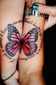 Two Halves Of A Butterfly Tattoo Tattoos Book 65000 Tattoos Designs