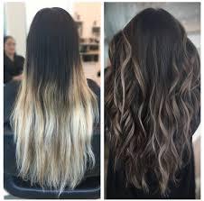 Dark Brown Hair Light Brown Balayage Hair Transformation Dark To Light Brown Balayage Ombre