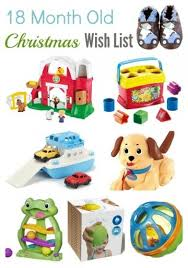 Christmas Wish List - 18 Month Old